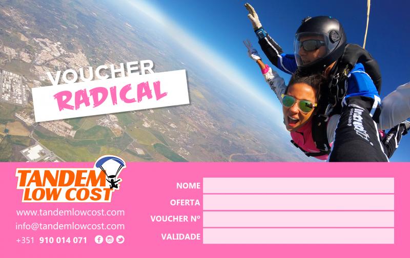 Voucher Radical Salto Paraquedas